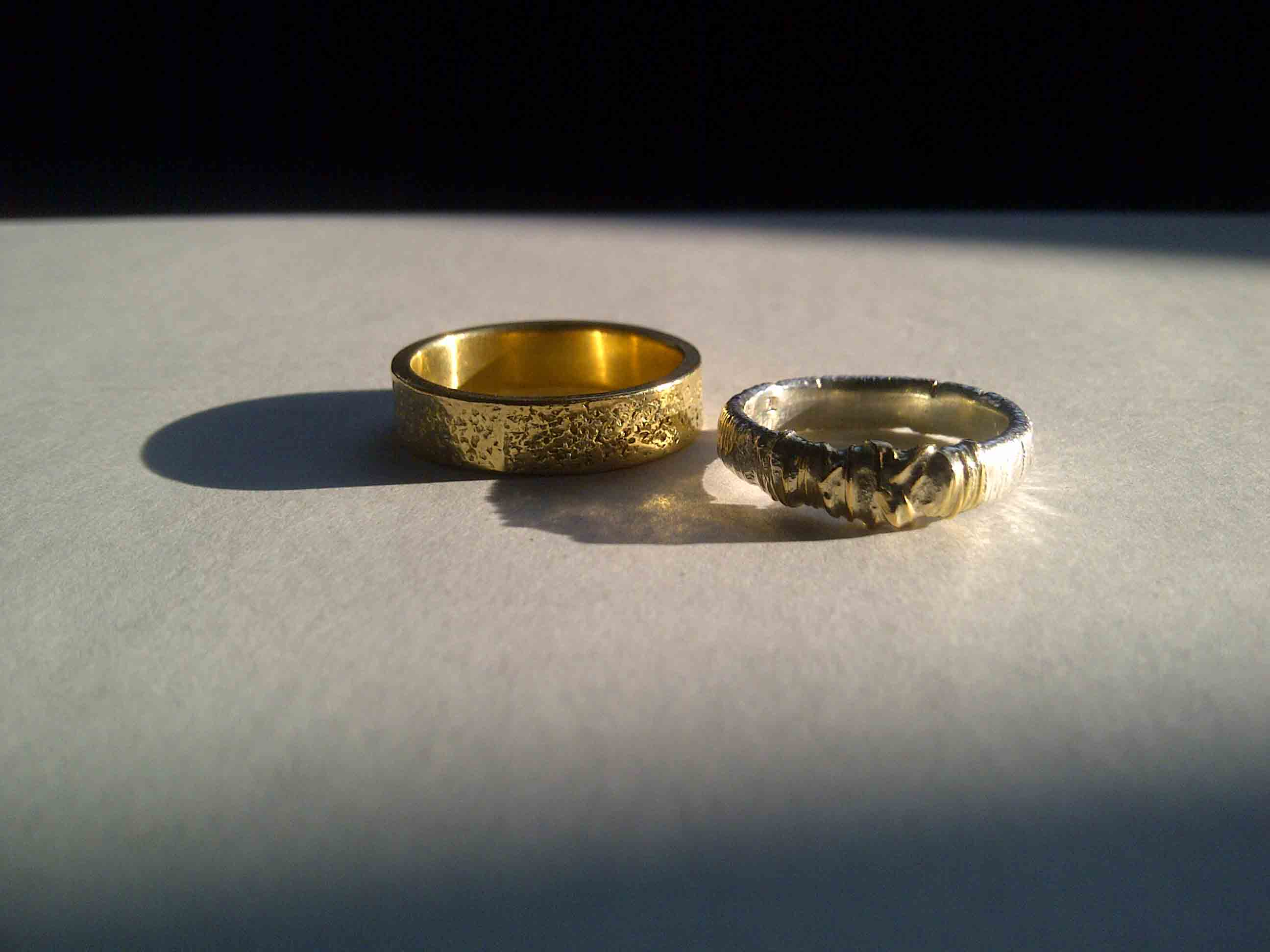 own wedding rings to design my works offer borkowskijewellery